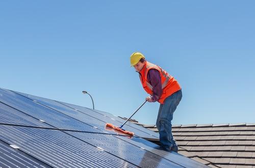 Pulizie pannelli fotovoltaici