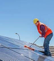 pulizie pannelli fotovoltaici Roma