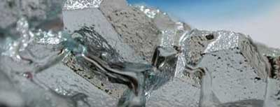 Riciclo alluminio Roma: foto di bauxite dal quale proviene l'alluminio