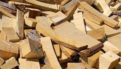 smaltimento legno Roma: foto