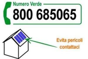 Pulizia pannelli fotovoltaici Roma numero verde