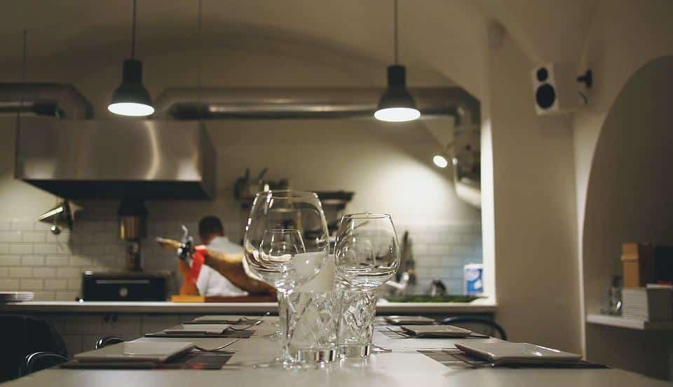 Pulizia della cucina