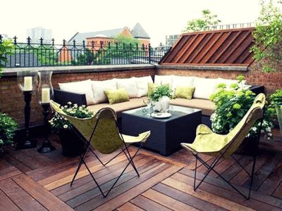 Pulire balcone o terrazzo a Roma è facilecon 100Mani srl