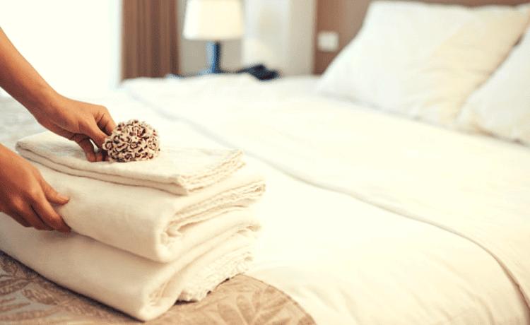 Noleggio lenzuola e asciugamani