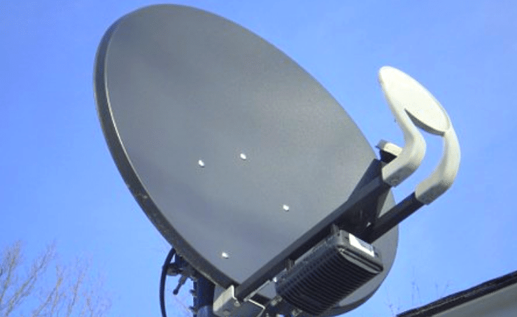 Puntamento antenna satellitare